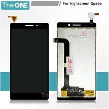 Für Highscreen Spaten LCD Display + Touch Screen Digitizer-bereich Montage Ersatzteil