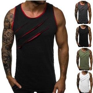 2019 summer new men sleeveless