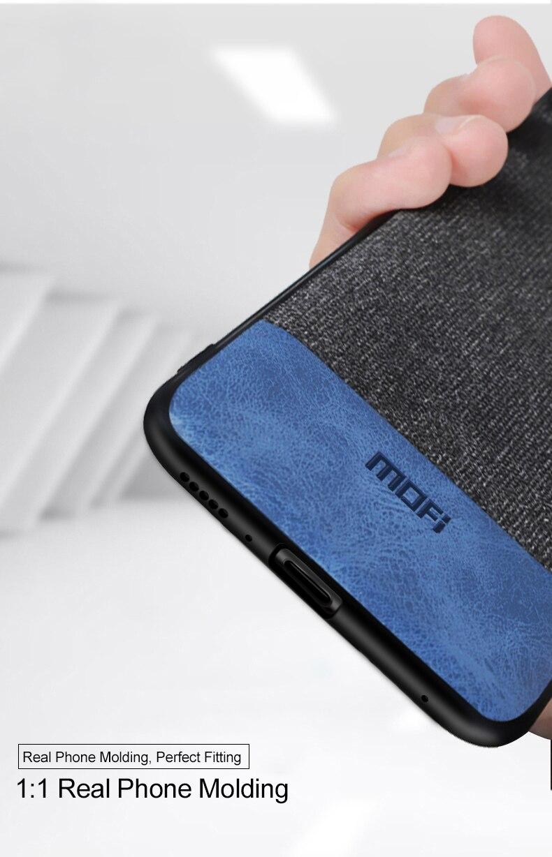 HTB11TqhaRKw3KVjSZTEq6AuRpXa3 Capinha capa case telefone Para xiaomi mi 9t caso capa de pano tecido mofi original mi9t pro capa dura protetora silicone à prova de choque volta caso