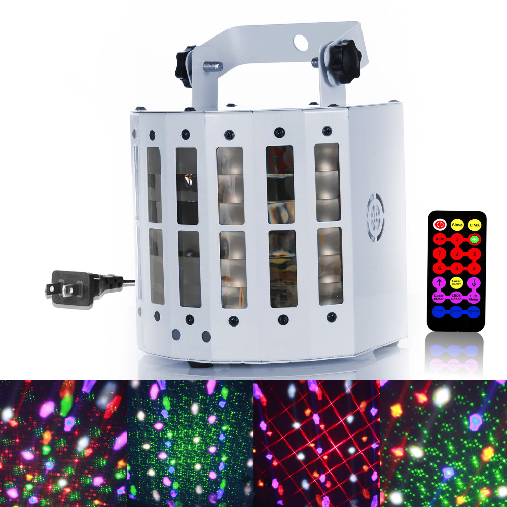 High Power 30W LED Stage Light Laser Lighting Voice Activated DMX RGB Crystal Magic Ball Stage Effect Lights for DJ Culb Party zndiy bry mini led sunflower effect 8w 48 led rgb voice activated stage party light us plug
