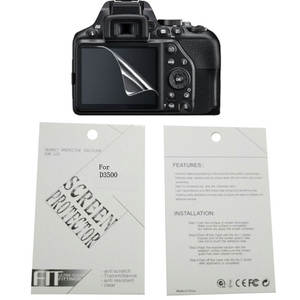2 pieces Soft Camera screen protection film For Nikon D90 D7000 D3000 D3100 D7500