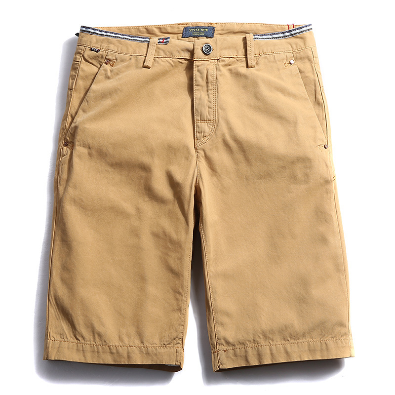 Drop de expediere Men Cargo Shorts Casual Short Pants Blue Orange - Imbracaminte barbati