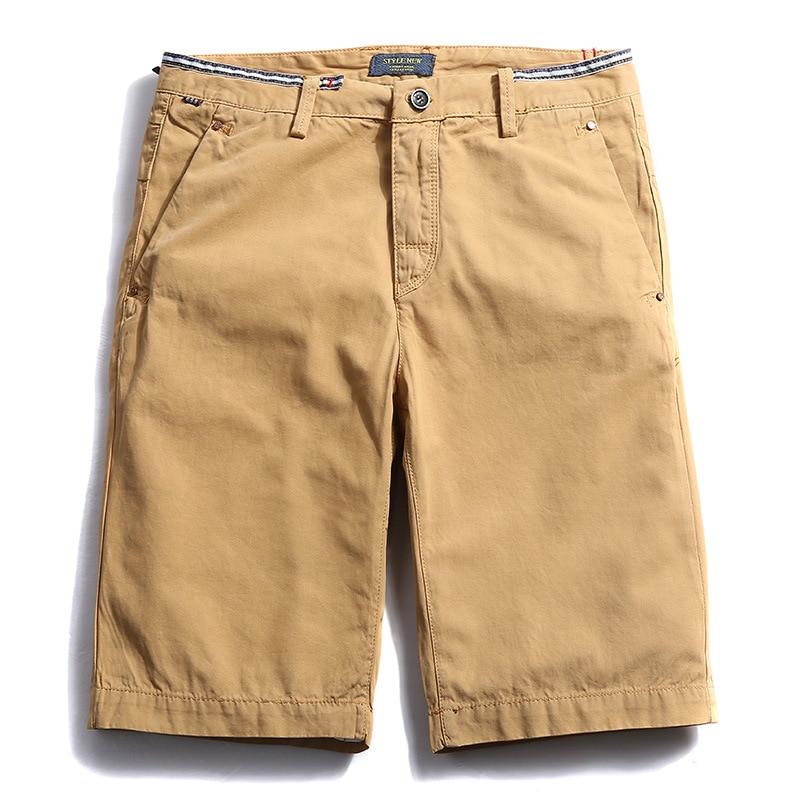 Drop shipping Erkekler Kargo Şort Rahat Kısa Pantolon Mavi Turuncu - Erkek Giyim