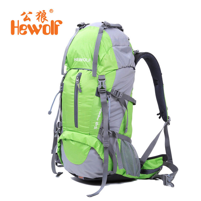 50L Nylon Unisex Outdoor Bags Professional Climbing Mountaineering Bag Outdoor Sport cycling Bicycle Backpack Camping Hiking Bag