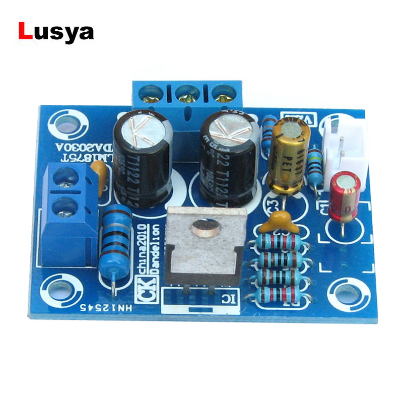 Worldwide delivery lm1875t stereo audio amplifier diy kit in
