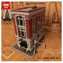 IN STOCK Free shipping New LEPIN 16001 4695Pcs Ghostbusters Firehouse Headquarters Model Building Kits Model set Compatible With