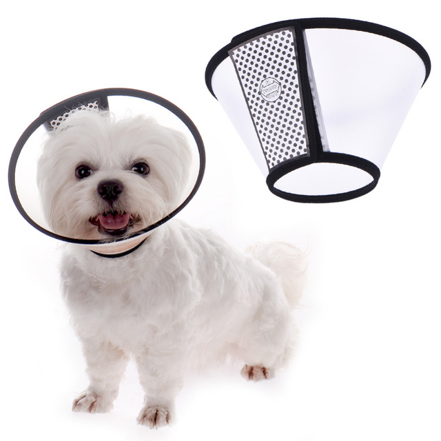 Elizabethan Recovery Cone Collars Protective Collar Wound Healing Cone  Protection Smart Collar Compatible with Dog Cat Pet 1e20872ed579b