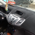 XUKEY APTO PARA 2009-2012 2013 2014 2015 2016 FORD FIESTA DASHBOARD TAMPA DO TRAÇO PAD MAT DASHMAT SUN SOMBRA TAMPA DO PAINEL de BORDO TAPETE