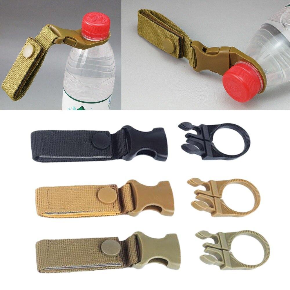 Multifunction Molle Webbing Backpack Hanger Hook Carabiner Water Bottle Camp Outdoor Buckle Hook Holder Travel Kit Survival Tool