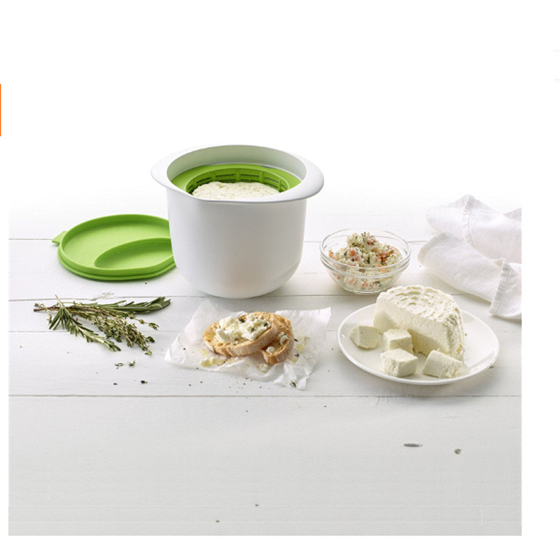 Microwave Cheese Maker Contains Recipes Plastic Healthy For Making Cheese Home Cooking Kitchen Dessert Pastry Pie Tool