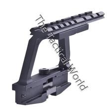 Tactical AK 74U Mount Quick release 20mm AK Side Weaver Rail Lock Scope Mount Base for