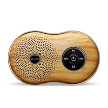 Itek Mini Wooden Retro Wireless Bluetooth Speaker Portable Super Bass Subwoofer Loudspeaker Support Hands-free MIC AUX TF Card