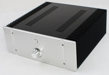 WF1176 Full Aluminum Power Amplifier Enclosure DAC Chassis Preamp Case Suitable For Class A Amplifier Board 312*323*120mm
