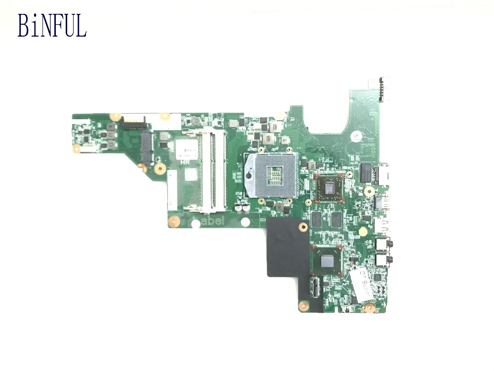 BiNFUL SUPER TESTED 646673 001 fit 646672 001 FREE SHIPPING LAPTOP MOTHEBOARD FOR HP COMPAQ