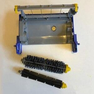 Image 4 - אביזרי ניקוי אבק ראש תיבת ראשי מברשת מסגרת עמיד רכיבים נייד הרכבה עבור IRobot Roomba 600 סדרה