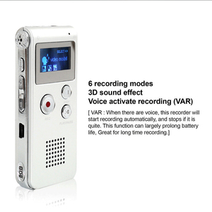 Image 4 - 8 ギガバイトボイスレコーダー USB プロ 30 時間ディクタフォンデジタルオーディオ/サウンド/音声レコーダー Wav MP3 音楽プレーヤー