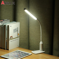 ARILUX AL TL02 Flexible Clamp 6W LED USB Touch Dimmable Reading Table Light Clip On Adjustable