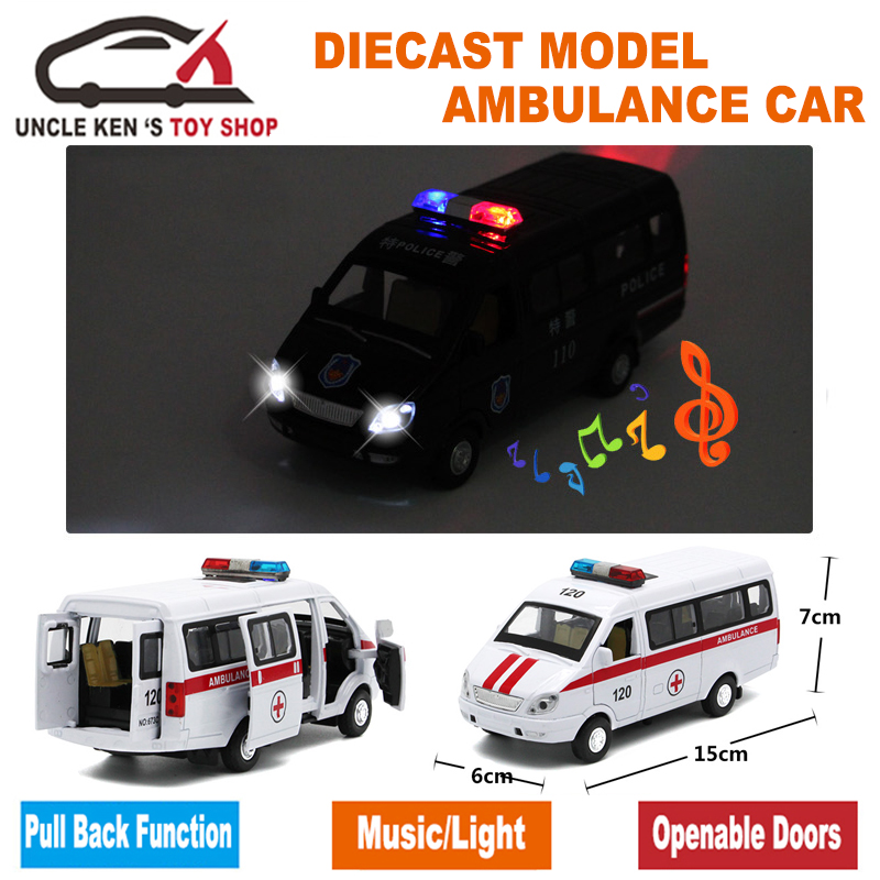 Diecast-Russian-Ambulance-GAZ-Gazel-Scale-Model-Metal-Car-Toys-For-Boys-Or-Kids-As-Gifts-With-Functions-2