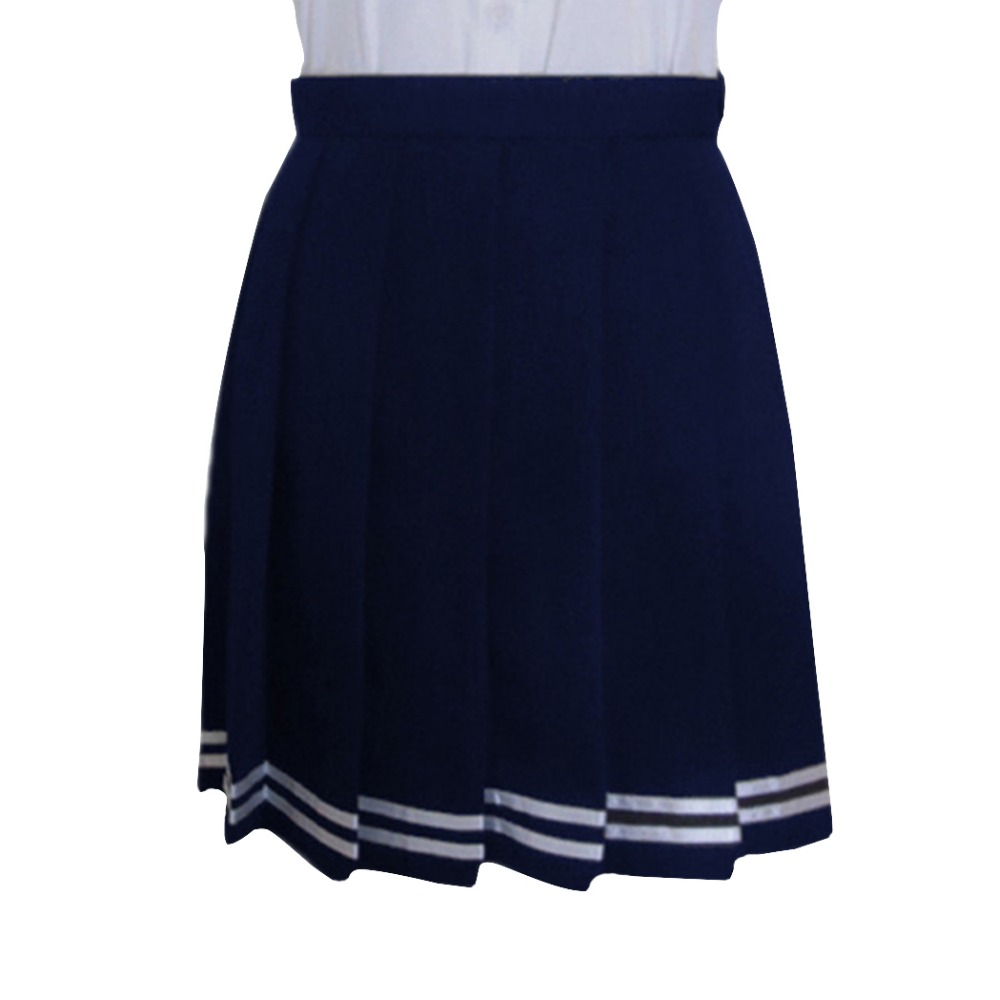 Lifeye Sweet Pleated Skirt Women Preppy Pleated Mini Skirt High Waist Skirt Girls Vintage Black White School Uniforms Skirts