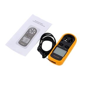 Image 5 - נייד מד רוח Anemometro מדחום רוח מהירות מד מד Windmeter LCD Anemometro דיגיטלי כף יד למדוד כלי