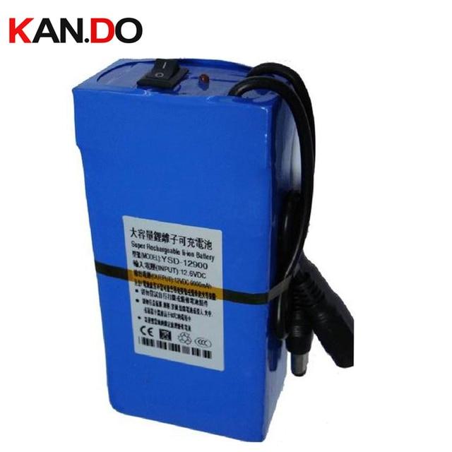 Вместимость 9000 мАч, ce rohs approvd w/12.6 В 1A зарядное устройство, DC 12 В литиевых батарей, камеры видеонаблюдения литиевая батарея Smart Power