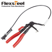 Auto Vehicle Tools Cable Type Flexible Wire Long Reach Hose Clamp Pliers Tools for Car Repairs automotive tools cable type flexible wire hose clamp pliers kit for car repairs hose clamp removal tool alicate