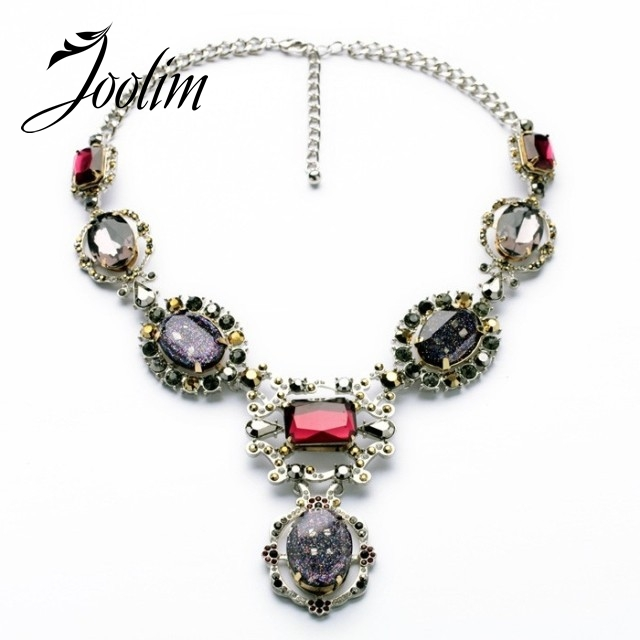 JOOLIM Jewelry Wholesale Gorgeous Statement Necklace Jewelry Free Shipping