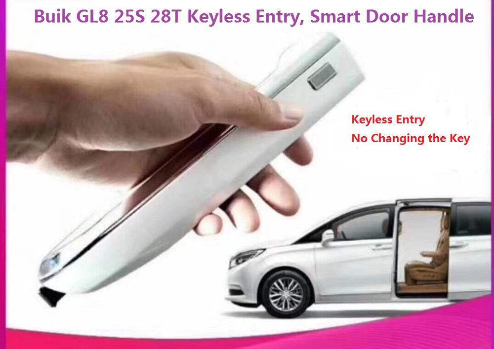 Système d'entrée sans clé à distance PKE Kit de verrouillage Central d'alarme de voiture avec fenêtre enroulable serrure de porte de voiture pour Buick GL8 25 S