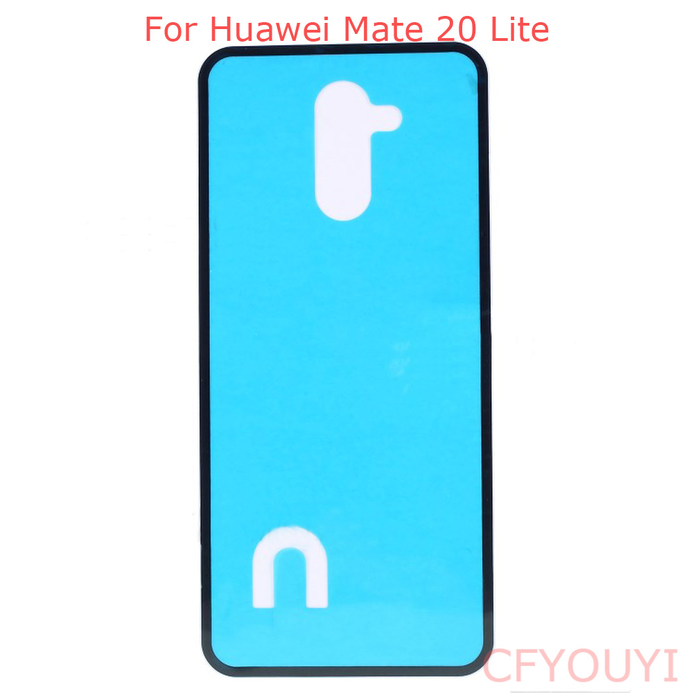 2pcs/lot For Huawei Mate 20 Lite Battery Back Door Cover Housing Adhesive Sticker Glue