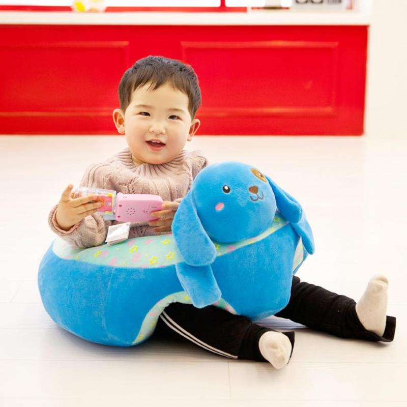 Baby Seats Sofa Support Seat Baby Plush Support Chair Learning To Sit Soft Plush Toys Travel Car Seat