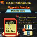 Original Real Capacity WIFI Share Memory SD Card 32GB Class 10 SDHC Flash Memory SD Card 32 GB cartao de memoria Free Shipping