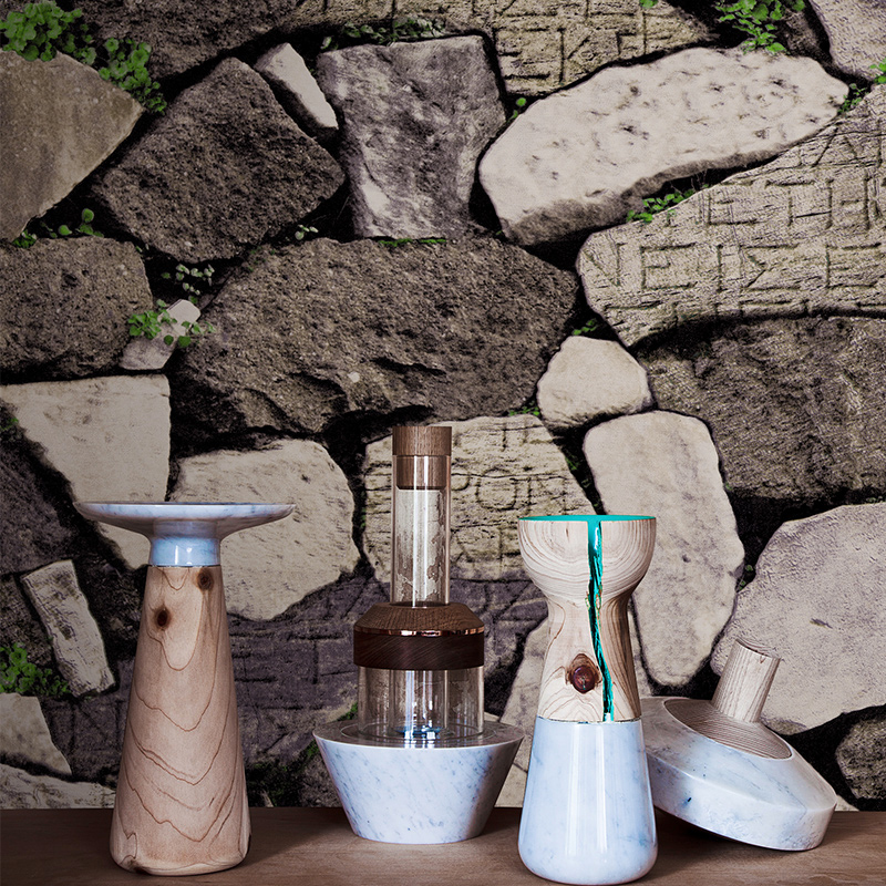 Retro Nostalgic Style 3D Stereo Imitation Rock Stone Wallpaper Roll Living Room Restaurant Backdrop Vinyl Wall Paper WP217 junran america style vintage nostalgic wood grain photo pictures wallpaper in special words digit wallpaper for living room