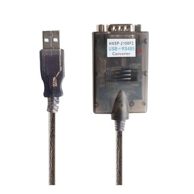 Высокое качество USB 2.0 В RS485 DB9 Последовательный Порт Устройств Data Converter Кабель с ферритовыми FTDI Chip Оптовая
