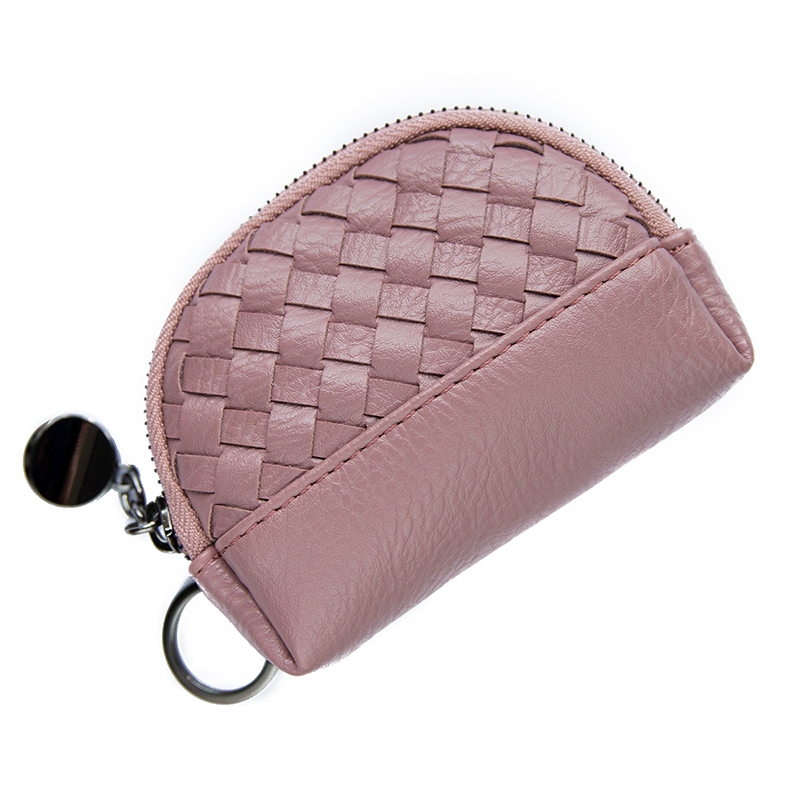 Lydian 2017 Coin Purses Red New Soft Knit Wallet Zipper Small Charge Money Wallets Mini Japan Chain Card Bag Key Coin Bags Weave 2017 cute girls coin purses small coin bag key ring kawaii bag kids mini wallet card holders leather cartoon coin purse1bw73