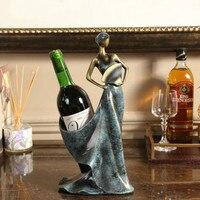 Европейский творческий Красота винный шкаф предмет интерьера, Украшение Современный американский домашнее Вино шкафа, полки для вина