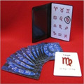 Zodiac Test,Card magic,gimmick,illusion,mentalism,prediction,magic tricks,Free shipping