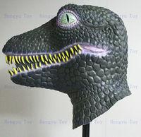 Christmas Costume Realistic Latex dinosaur Mask