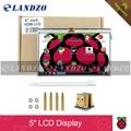 LCD с Сенсорным Экраном HDMI 5 дюймов Дисплей TFT 800*480 банан Пи Raspberry Pi 3/2 Модель B/B +