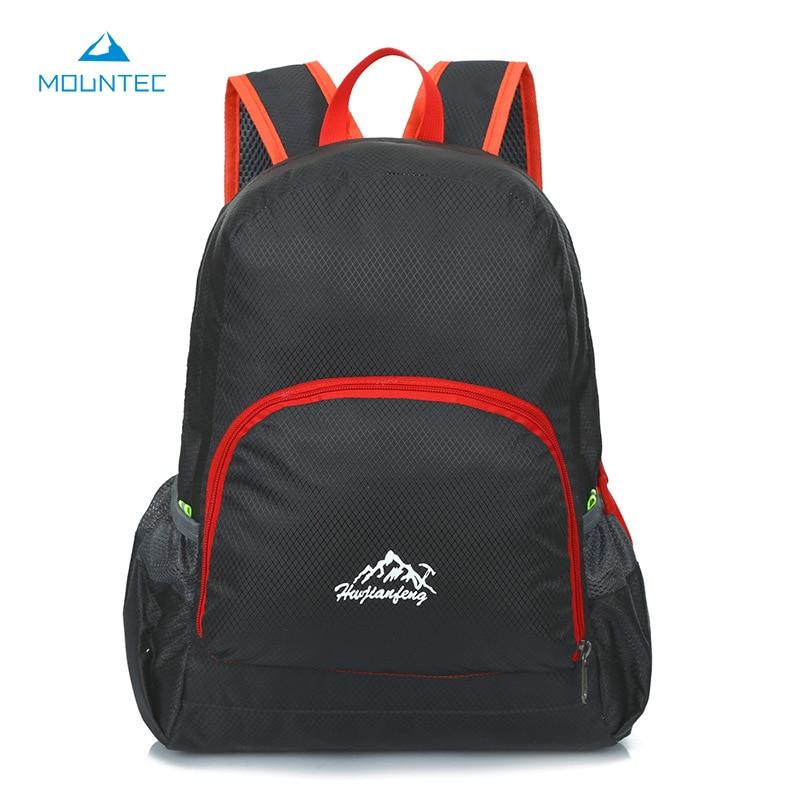 MOUNTEC Lightweight Foldable Waterproof Backpack Travel Outdoor Sports Camping Hiking Bag Running Bag 20 35L 26