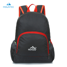 MOUNTEC Lightweight Foldable Waterproof Backpack Travel Outdoor Sports Camping Hiking Bag Running Bag 20-35L 26*40*15