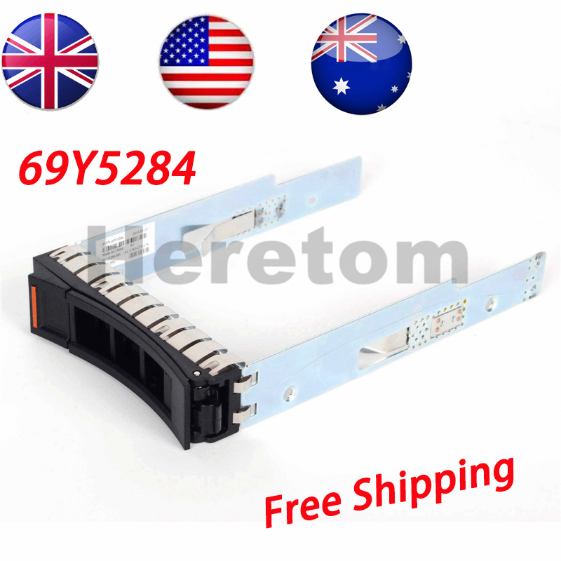 "UK/US/AU Shipping 3.5"" SAS SATA HDD Hard Drive Tray Caddy 69Y5284 For IBM System X3630 X3550 X3650 x3300 x3500 x3530 M4 Server(China)"