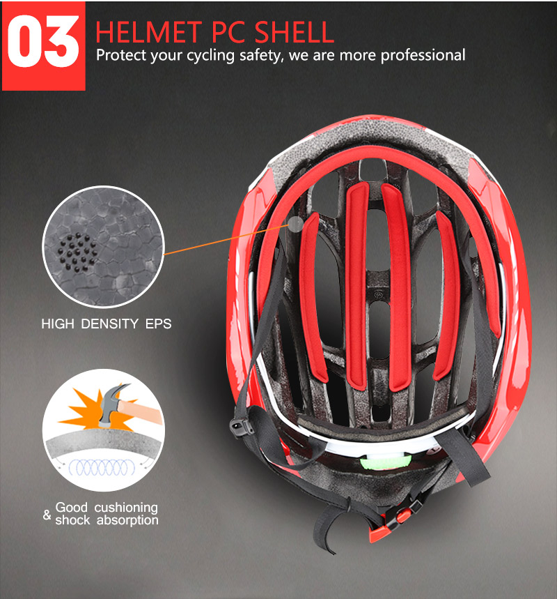 Cycling Helmet Integrally-molded Bicycle Helmet Road Mountain MTB Bike Ultra light Helmet With LED Lights Glasses Bike Equipment (11)