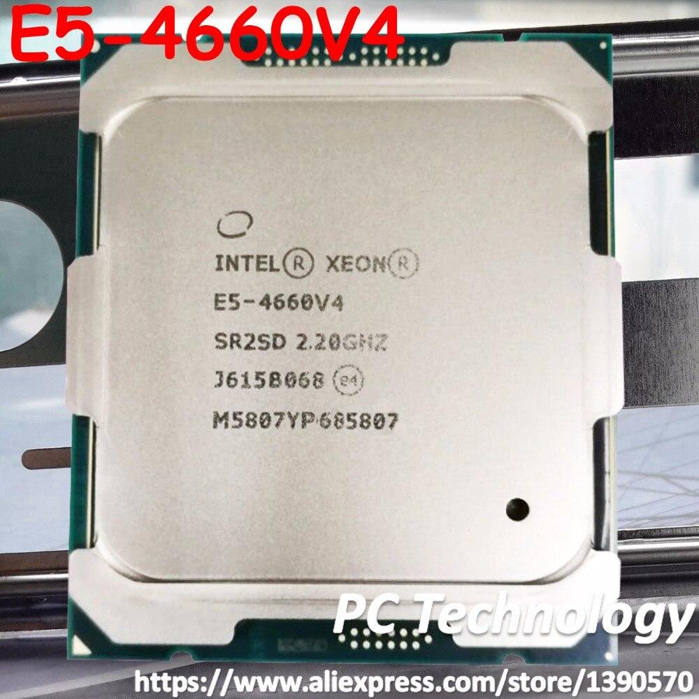 Original Intel Xeon processor E5 4660V4 QS 2 20GHZ 16 Cores E5 4660 V4 40MB E5