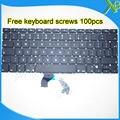 """Las Novedades Para El MacBook Pro Retina 13.3 """"A15022013 teclado REINO UNIDO + 100 unids tornillos del teclado 2013-2015 Años"""