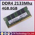 Продвижение 4 ГБ 8 ГБ 4 Г 8 Г DDR4 2133 2133 МГц PC4-2133P PC4 2133 P DRAM Памяти Ram Memoria Для Ноутбука Notebook Computer 100% Origina