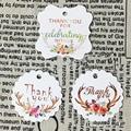 Подвески с надписью «Thank You», 50 шт./компл.