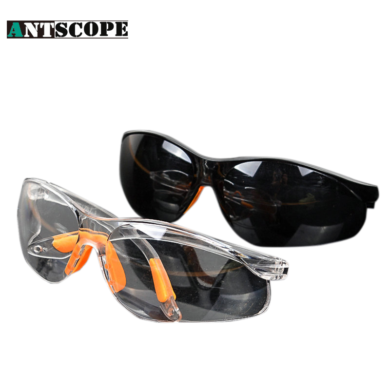 High Quality Clear Glass Safety Goggles Eye Glasses Dust Proof Dustproof Safe Work Protect Eyewear Lightweight White/Black safety potective goggles glasses windproof dustproof eyewear outdoor sports glasses bicycle cycling glasses anti scratch