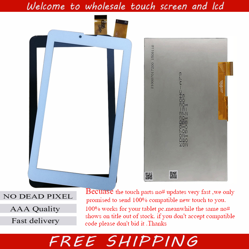 New Touch Screen 7 Archos 70B Copper 3G Tablet Touch Panel digitizer glass lcd display Sensor Free Shipping 1 pcs for iphone 4s lcd display touch screen digitizer glass frame white black color free shipping free tools