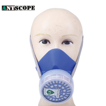 Work Mask Respirator Industrial Safety Chemical Respirator Mask Spray Chemical Filter Breathe Mask Paint Dust Half Gas Mask