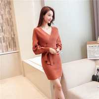 2019 Winter Women Sweater Autumn Casual Knitted Pullovers Sweater Female